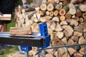 Holzspalter, Brennholz